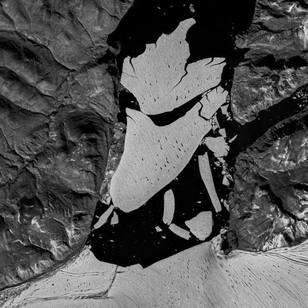 İklim değişikliği nedeniyle Grönland'de büyük bir buz tabakası koptu - 2