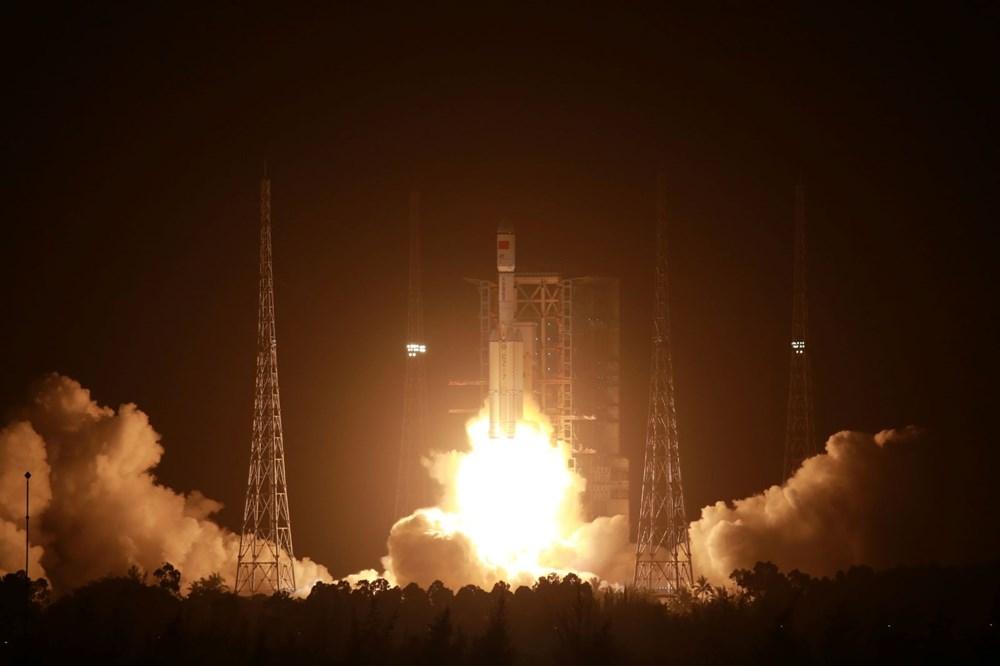 Çin'in uzay kargo gemisi Tiencou-2 yörüngeye yerleşti - 4