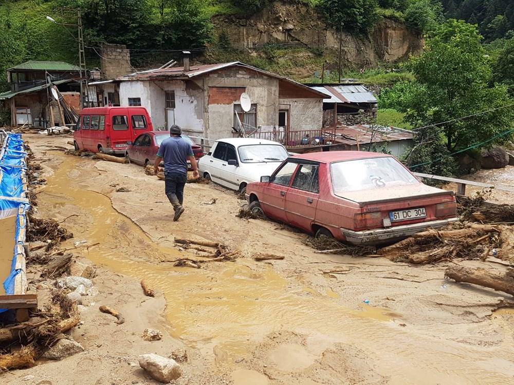 Şiddetli yağış Rize'yi de vurdu: 2 can kaybı - 25