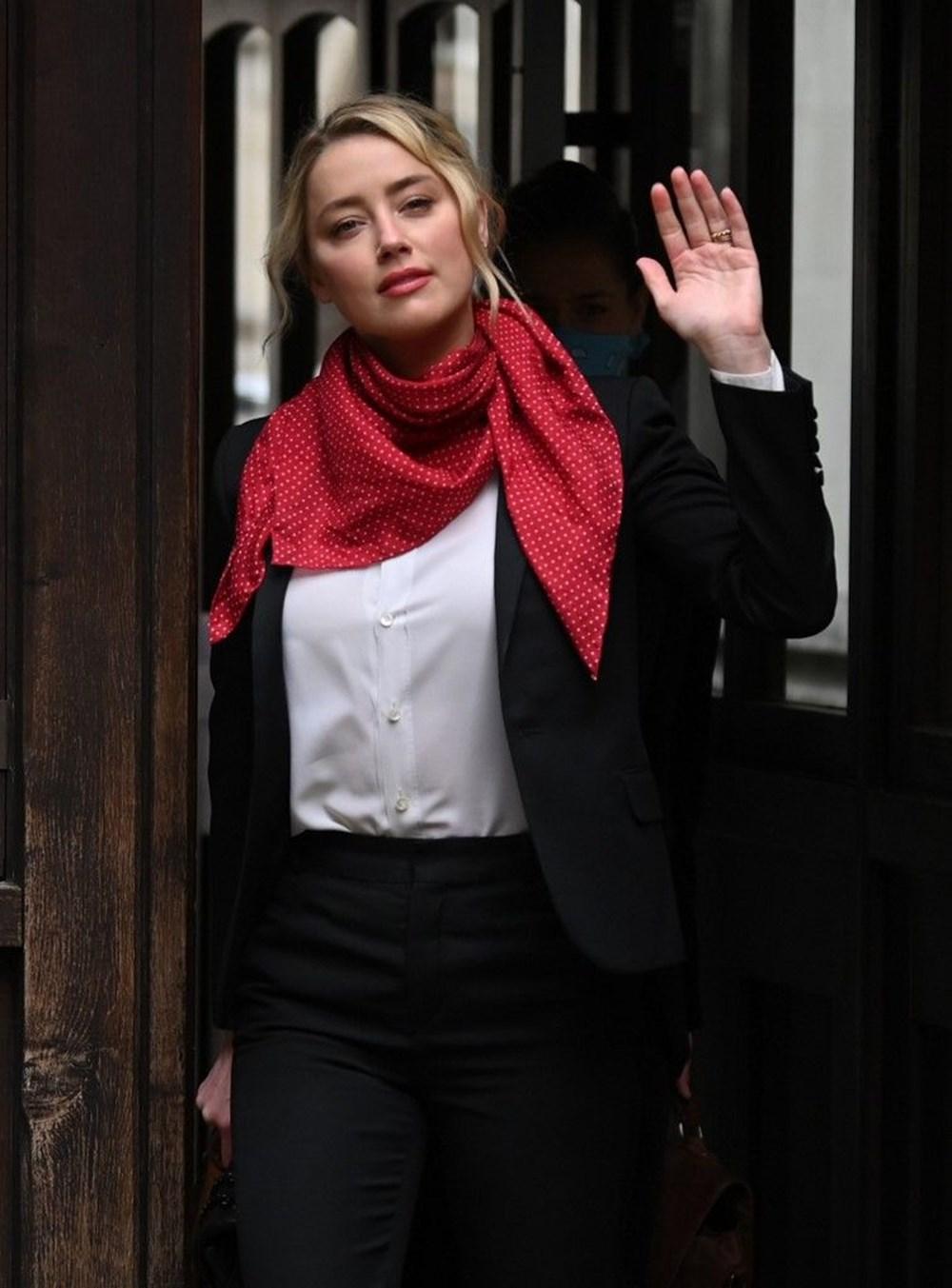 Johnny Depp'in iftira davasında Amber Heard'ın özel telefon mesajları ortaya çıktı - 9