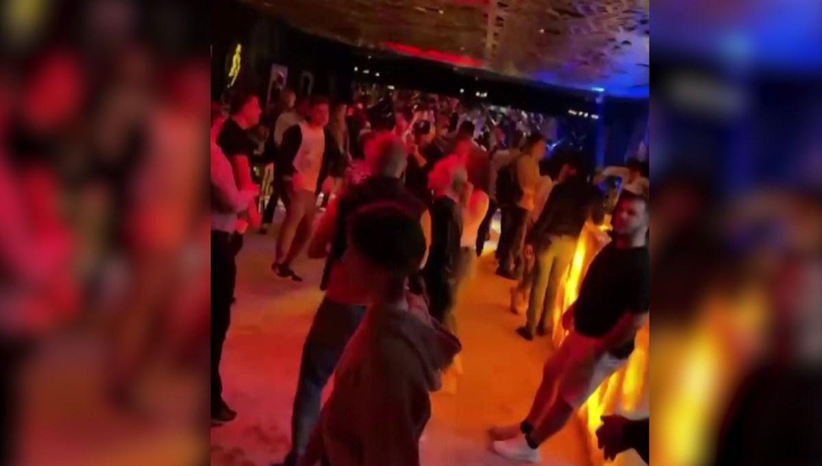 Corona virus party at the hotel