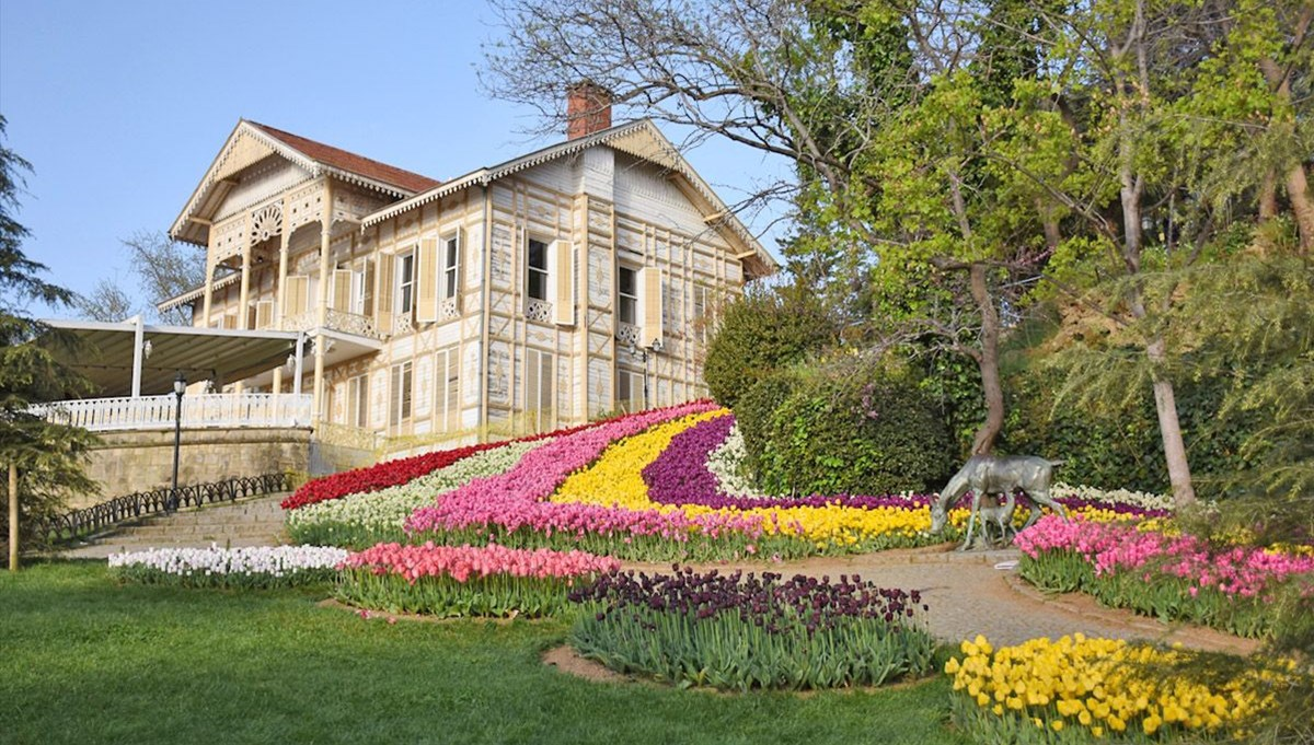 Tulip time in Emirgan Grove