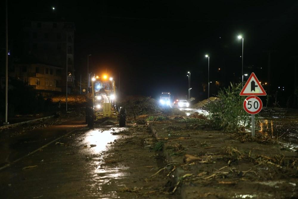 Şiddetli yağış Rize'yi de vurdu: 2 can kaybı - 9