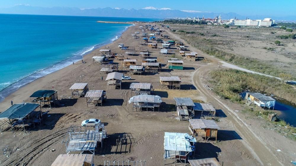 Lüks tatilin bedavaya sunulduğu 'Çardak Beach' çöplük oldu - 3