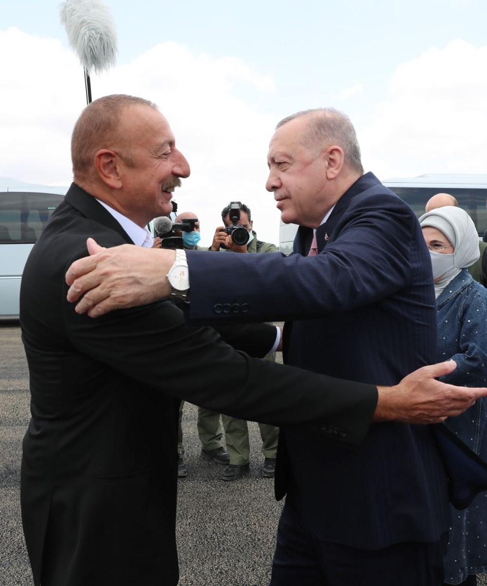 Cumhurbaşkanı Erdoğan, Azerbaycan'da - 3