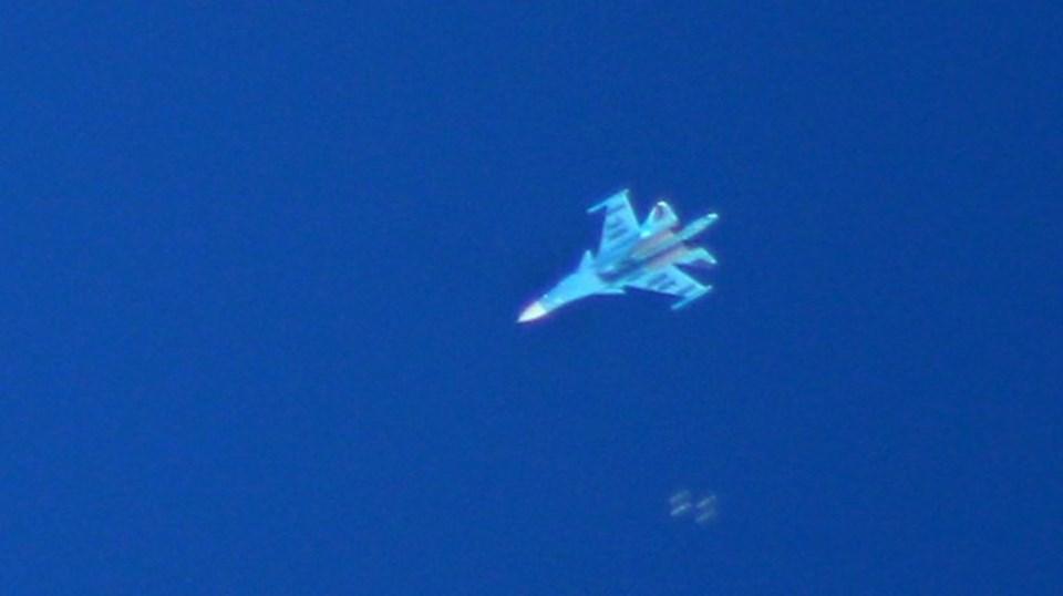 Rus savaş uçaklarının İdlib'e saldırı düzenlediği iddia edildi.