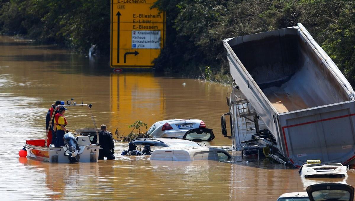 Almanya'da sel felaketinde ölü sayısı 156'ya yükseldi