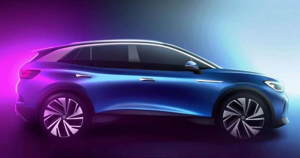 Volkswagen'in ilk elektrikli SUV'u ID.4'ün seri üretimine başlandı - 2