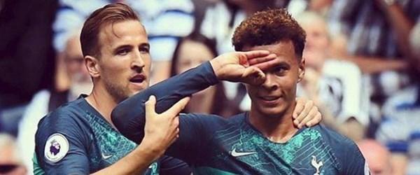 Tottenham'lı Dele Alli'nin gol sevinci sosyal medyada gündem oldu