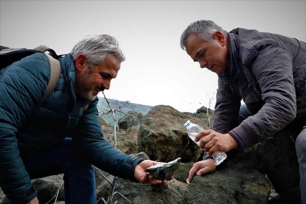 Onlar süs taşı avcıları: Komando gibi dağlarda gezerek süs taşı arıyorlar - 8