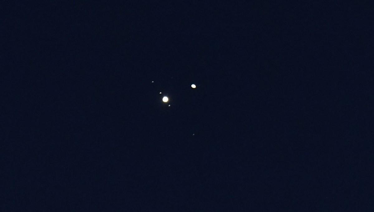 Jüpiter ve Satürn 4 asır sonra bir araya geldi