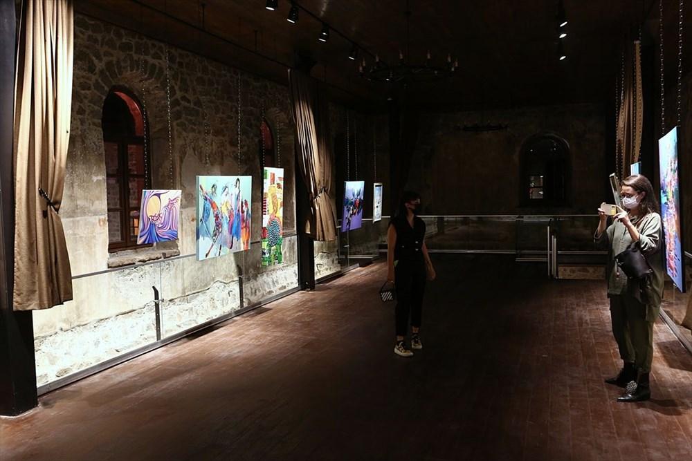 Trabzon'da restorasyonu tamamlanan Kızlar Manastırı ziyarete açıldı - 4