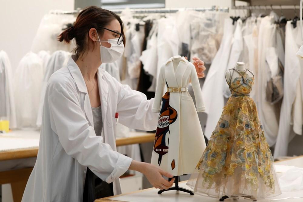 Dior'dan Dijital Moda Haftası için minyatür elbise tasarımları - 7