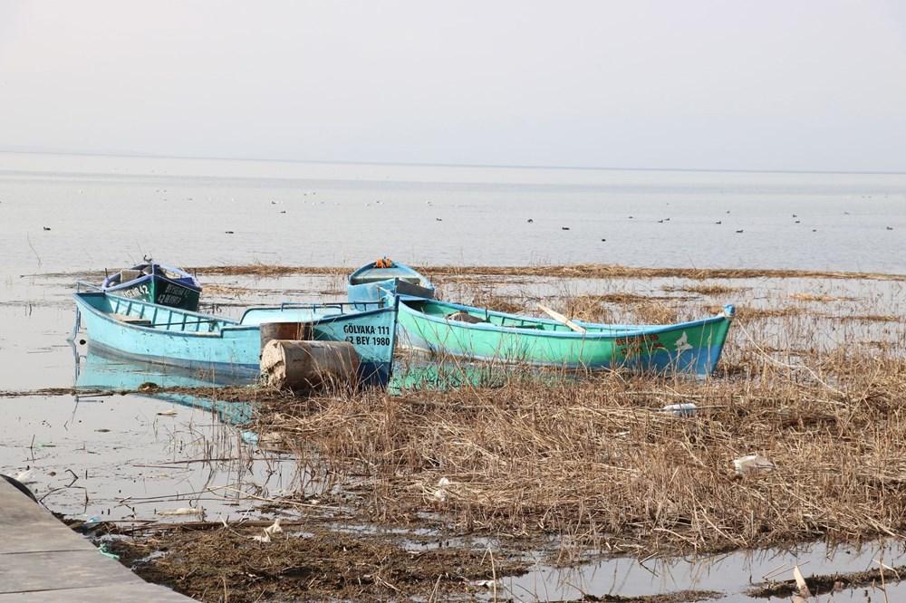 Beyşehir Gölü alarm veriyor: 50 metre çekildi - 3