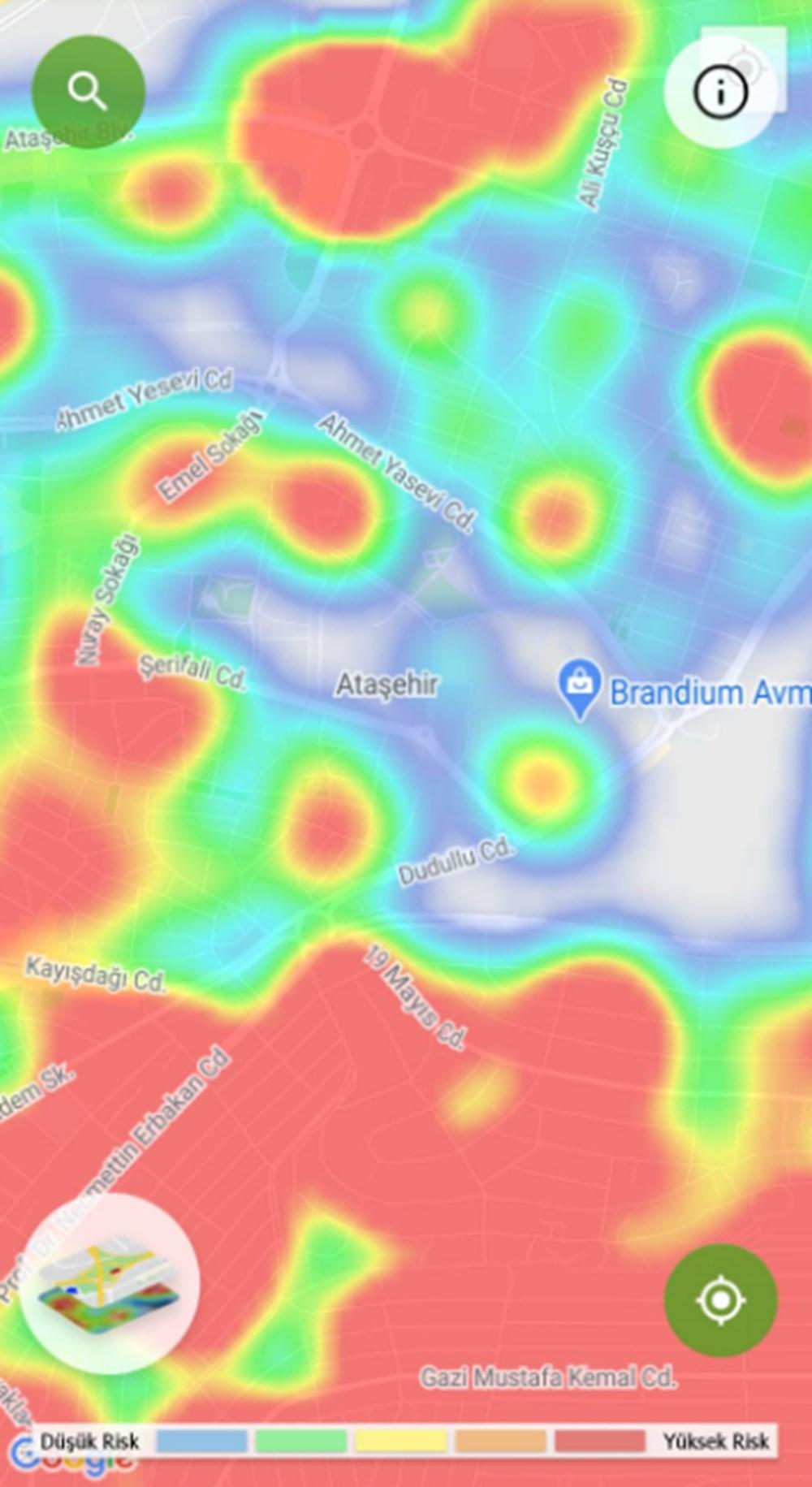 Corona haritası kızarıyor (İstanbul'un en güvenli ilçeleri) - 45