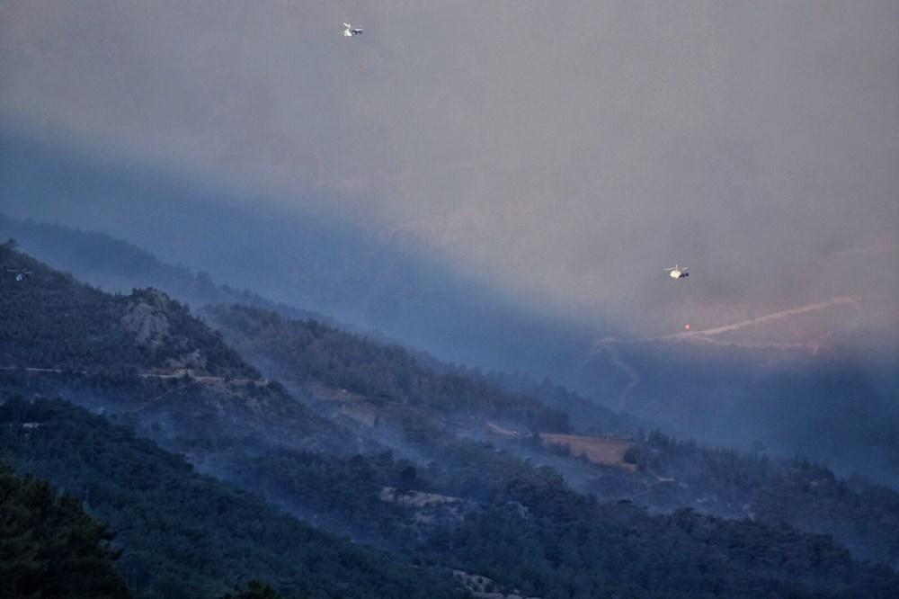 Hatay ve Mersin'de orman yangını - 14