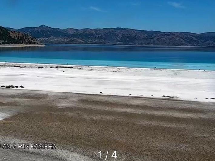 Salda Gölü'nden 24 saat canlı yayın