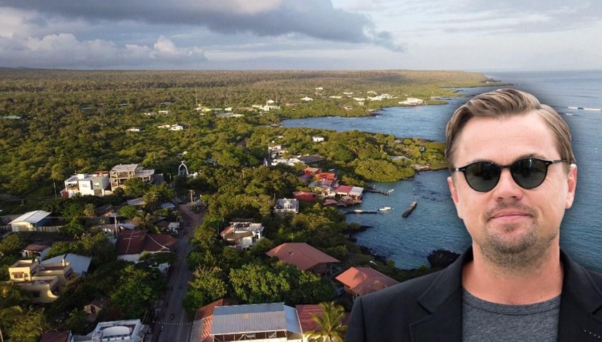 Leonardo DiCaprio'dan Galapagos Adaları için 43 milyon dolar bağış