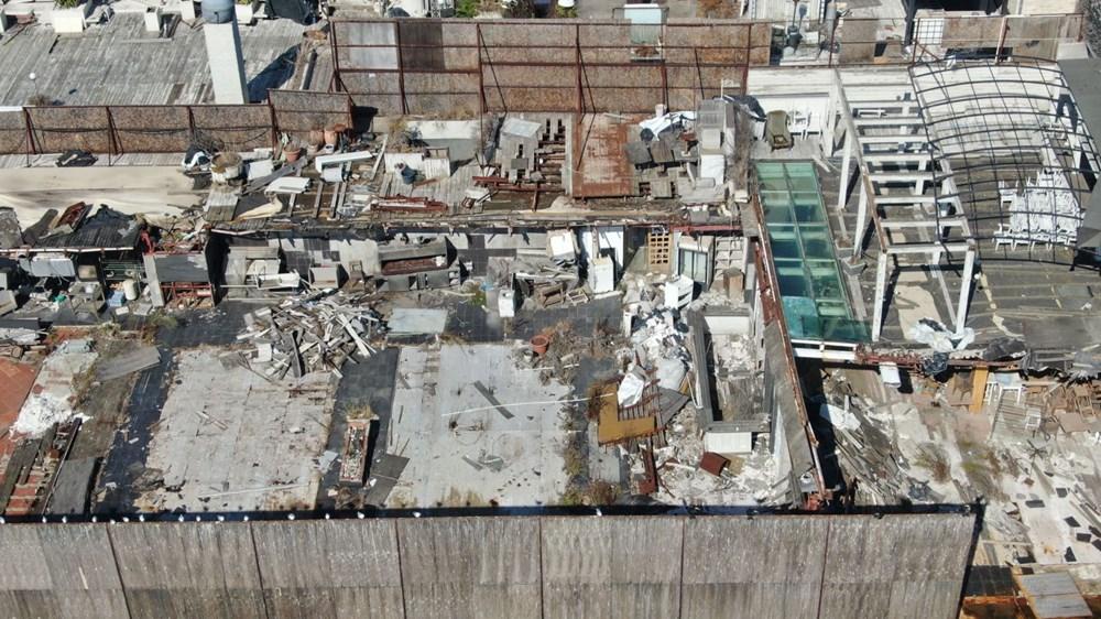 İstanbul Boğazı'nın ortasında moloz yığını - 6