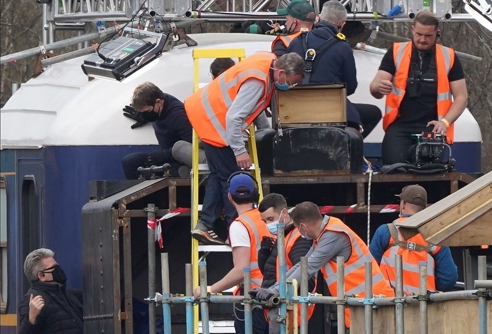 Görevimiz Tehlike 7 (Mission: Impossible 7) filminde tren sahnesi böyle çekildi - 11