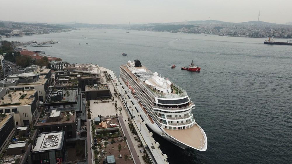 Galataport İstanbul'a ikinci yolcu gemisi demir attı - 14