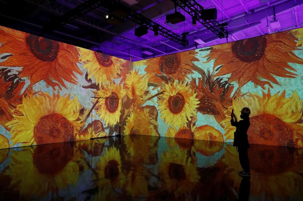 Vincent van Gogh sergisinde teknoloji ve sanat birleşti: Sürükleyici Van Gogh - 1
