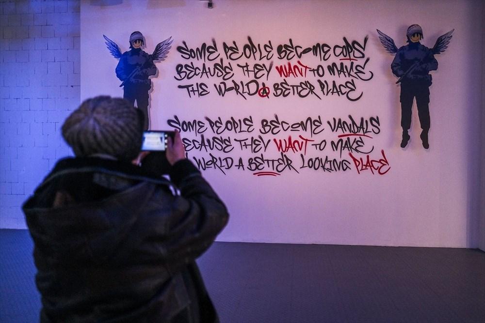 Banksy'nin sergisi Varşova'da - 9