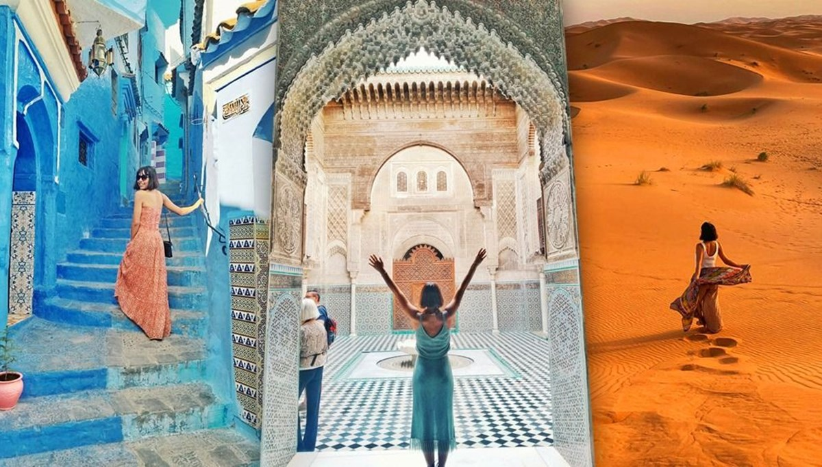A fairy tale land from the Middle Ages: Morocco