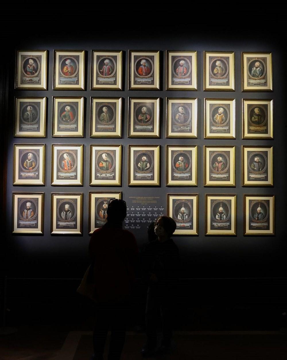 553 eser Osmanlı saray resminin tek temsilcisi Milli Saraylar Resim Müzesi'nde - 11