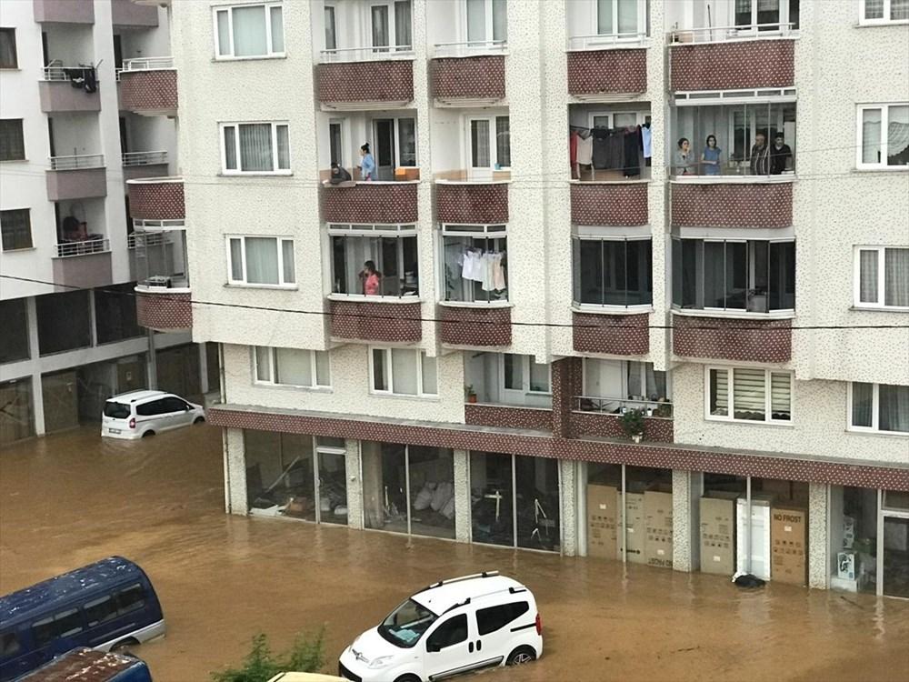 Şiddetli yağış Rize'yi de vurdu: 2 can kaybı - 21