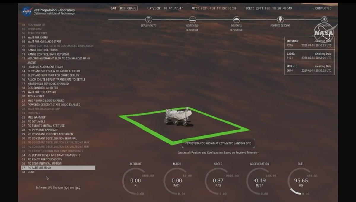 NASA kaşifi Kızıl Gezegen'e indi (Mars'tan ilk fotoğrafı paylaştı)