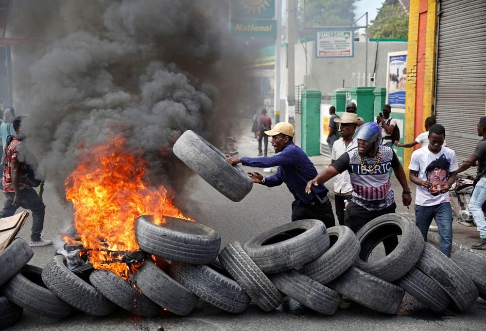 Haiti'de hükümet karşıtı protestolara sert müdahale - 1