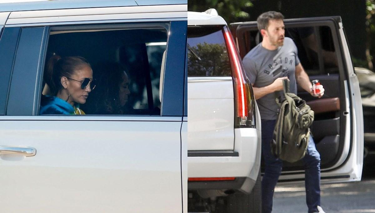 Eski aşıklar Jennifer Lopez ile Ben Affleck yeniden görüşmeye başladı