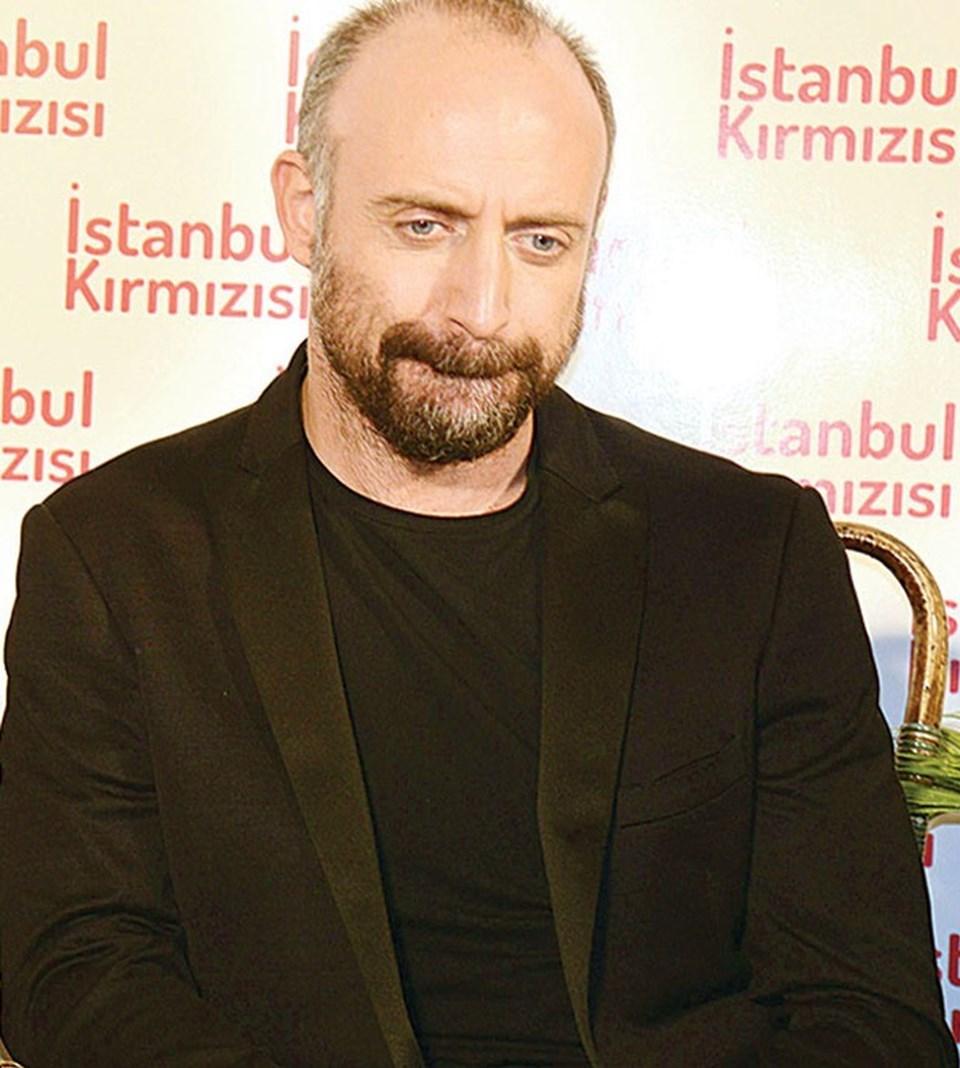 46 yaşındaki Halit Ergenç, bir yandan yeni dizisi için hazırlıklara başladı.