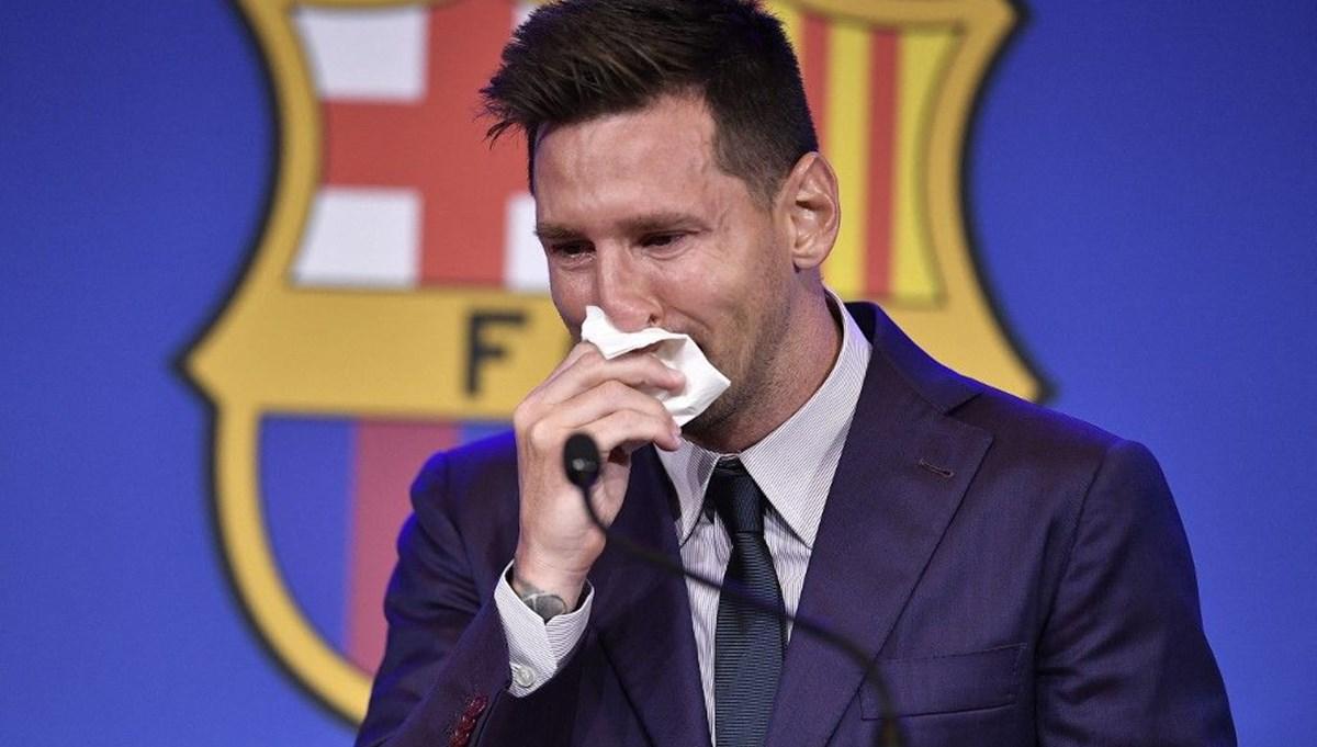 Messi'nin gözyaşları satışta