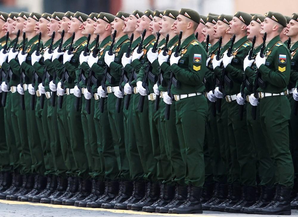 Rusya'da Zafer Günü kutlamaları: Moskova'da askeri geçit töreni - 19