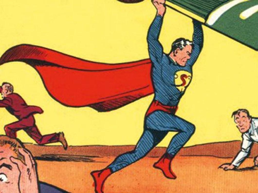 Süpermen çizgi romanı 3,25 milyon dolara satıldı