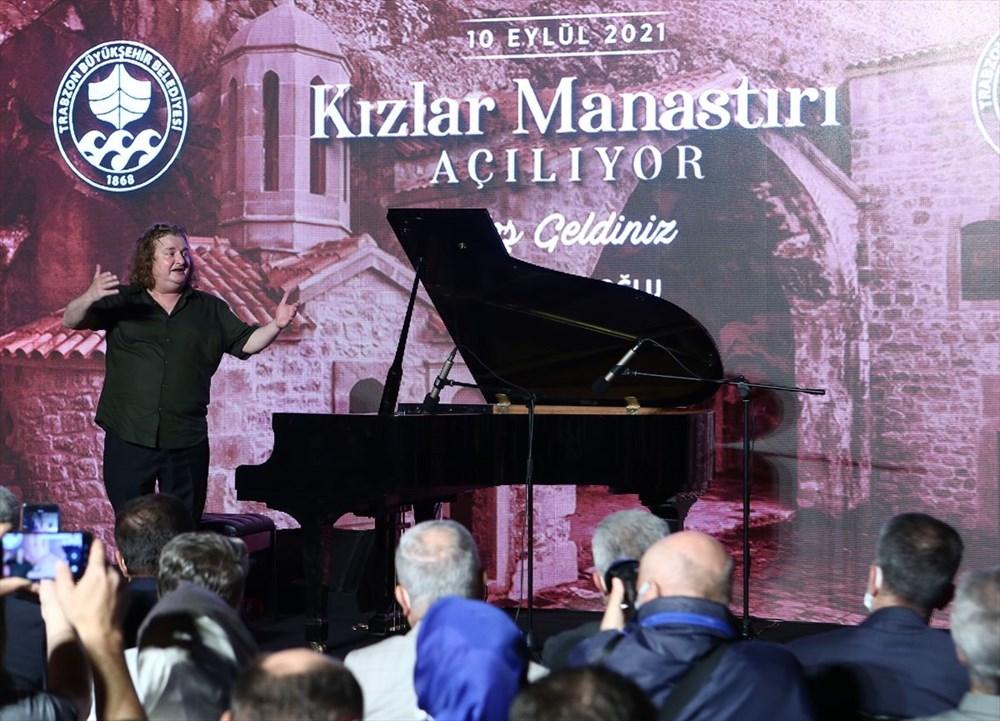 Trabzon'da restorasyonu tamamlanan Kızlar Manastırı ziyarete açıldı - 9