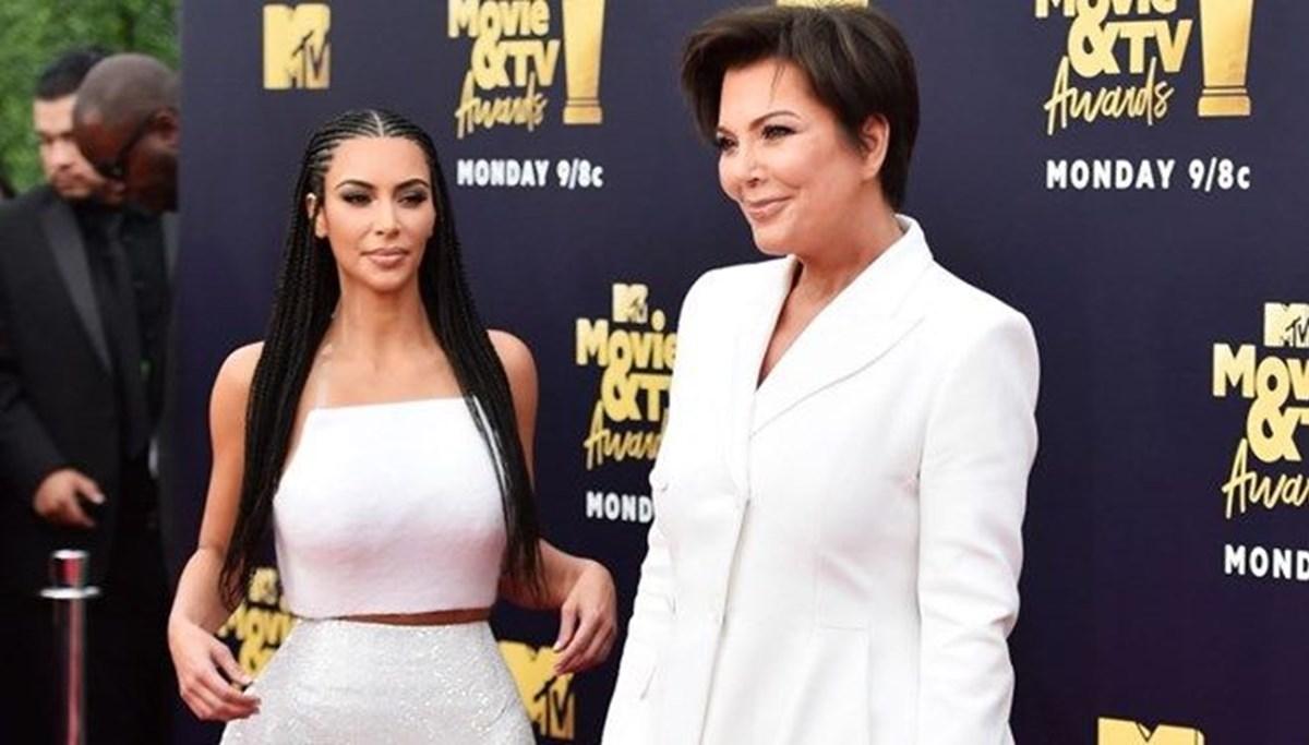 Kris Jenner'dan kızı Kim Kardashian'a: Kendini düşün, Kanye West'ten boşan