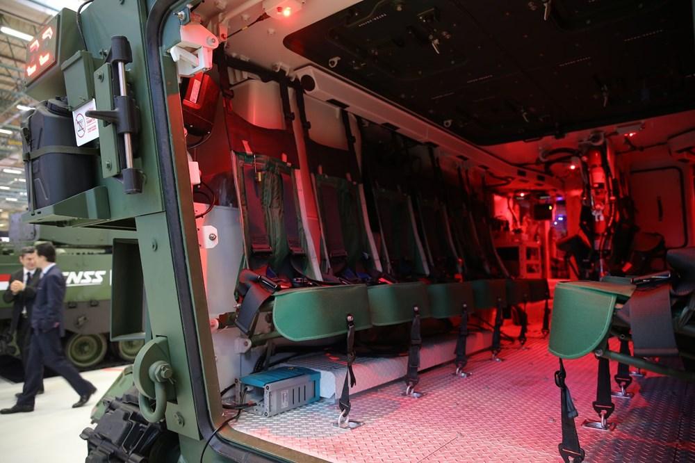 Dijital birliğin robot askeri Barkan göreve hazırlanıyor (Türkiye'nin yeni nesil yerli silahları) - 118