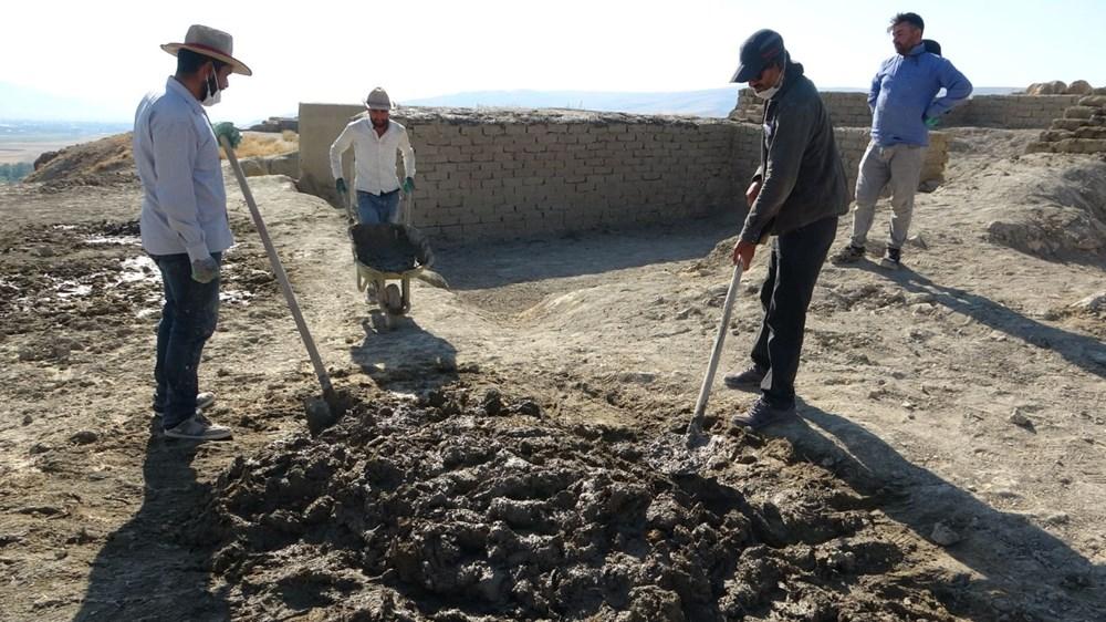 Urartular'a ait 2 bin 750 yıllık tahıl ambarları koruma altına alınıyor - 12
