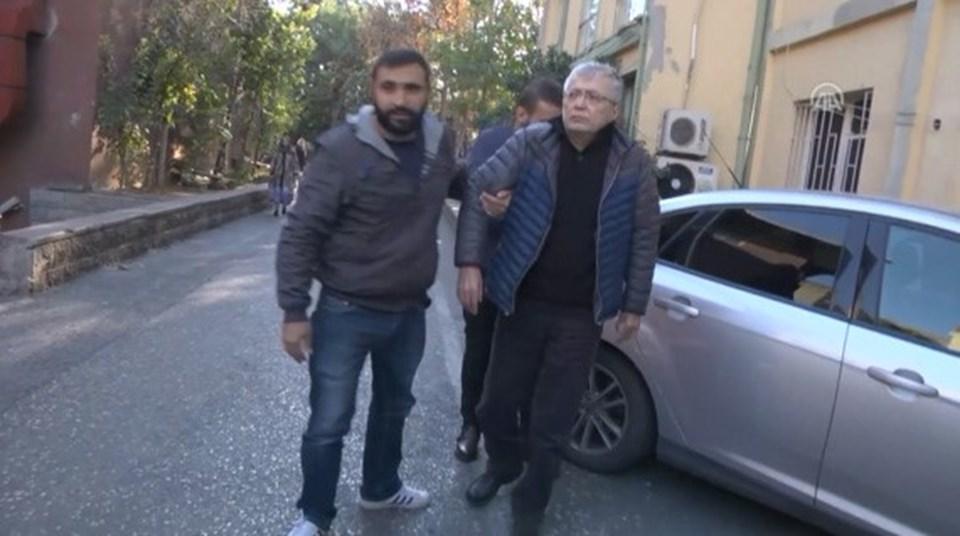 Gazetenin yazarlarından Hikmet Çetinkaya, sağlık kontrolünden geçirildi.
