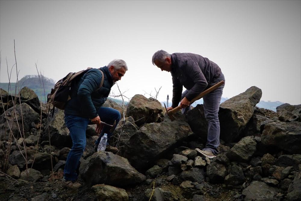 Onlar süs taşı avcıları: Komando gibi dağlarda gezerek süs taşı arıyorlar - 5