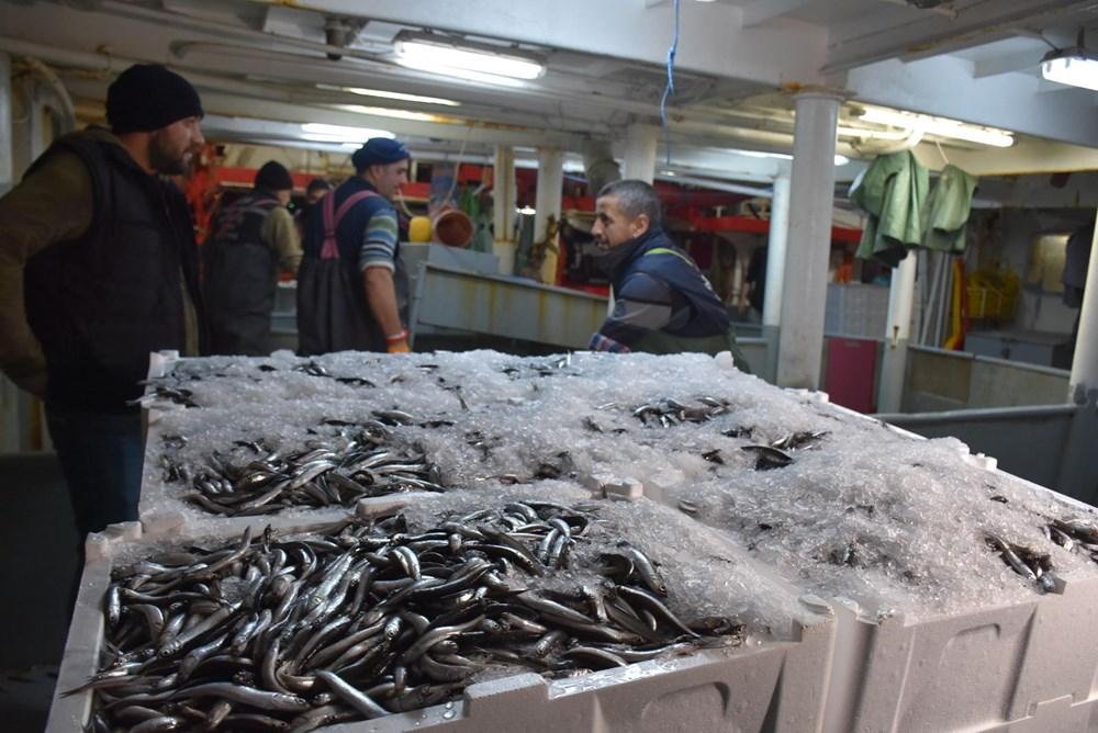 Balıkçılardan hamsi avının serbest olduğu İğneada'ya akın - 8