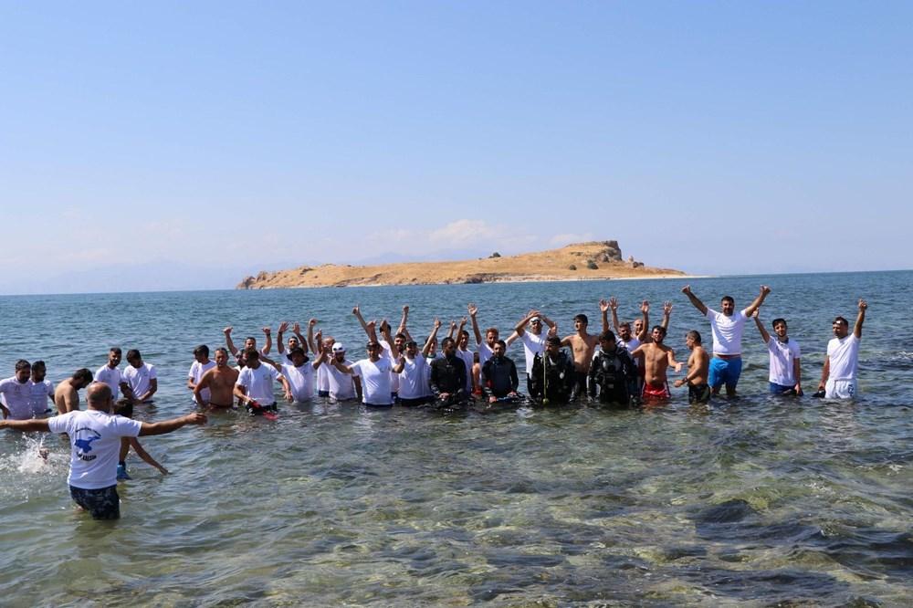 Su altındaki antik yoldan Çarpanak Adası'na ulaştılar - 9