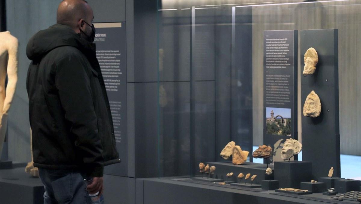 Troya Müzesi'ne ziyaret 1 milyonu aştı