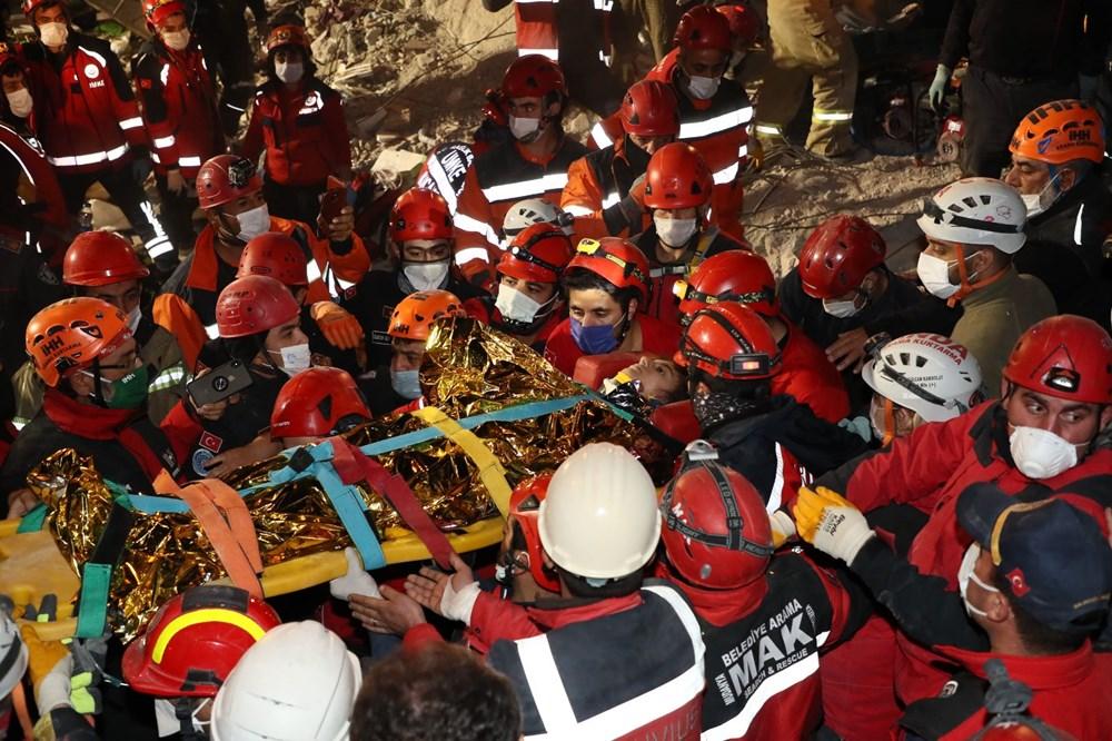 İzmir'de deprem sonrası enkaz altındakiler için zamana karşı yarış (65'inci saatte kurtarıldı) - 5