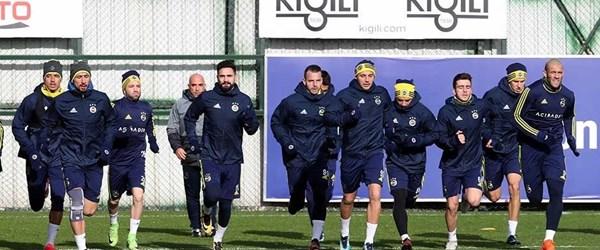 Fenerbahçe'de dev derbiye hazırlıklar devam ediyor