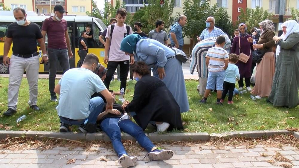Selama pengintaian, mereka menyerang pengemudi wanita, polisi turun tangan dengan gas air mata - 15