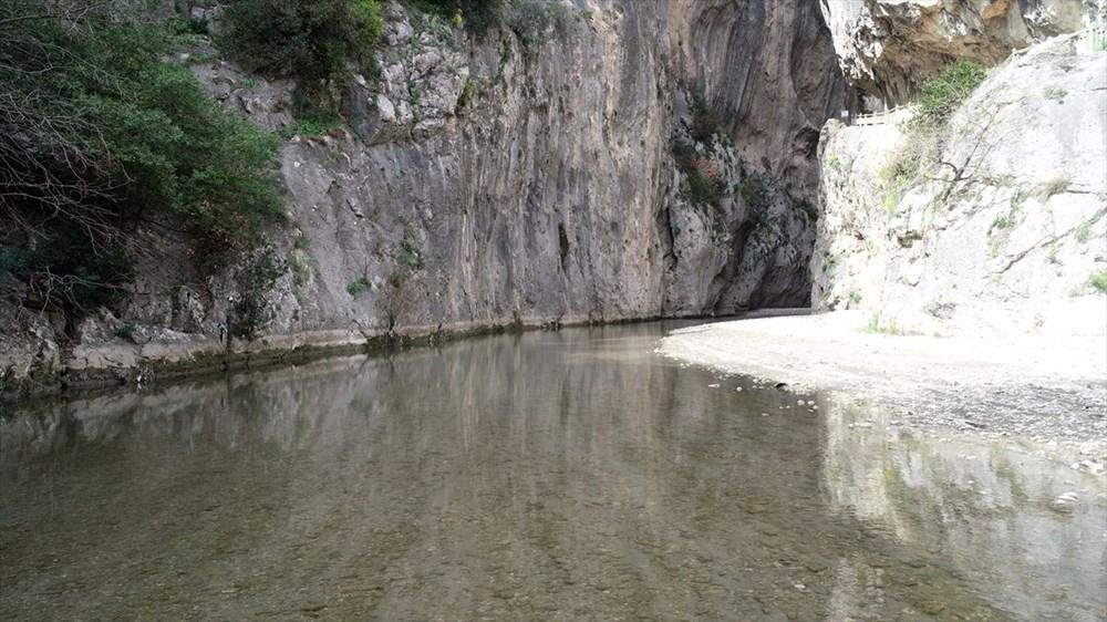 Adana'da mavi ile yeşili buluşturan Kapıkaya Kanyonu doğaseverleri bekliyor - 5